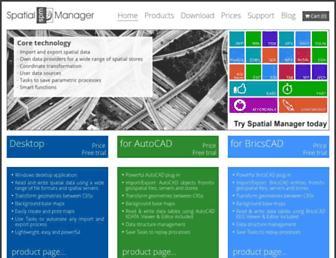 spatialmanager.com screenshot