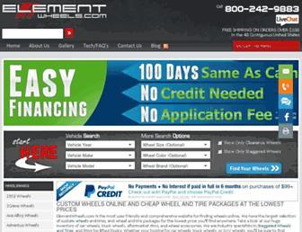 Thumbshot of Elementwheels.com