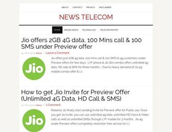 newstelecom.info screenshot