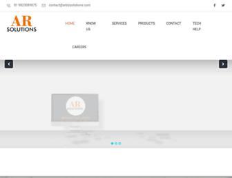 arbizsolutions.com screenshot