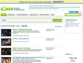 Thumbshot of Savevid.com