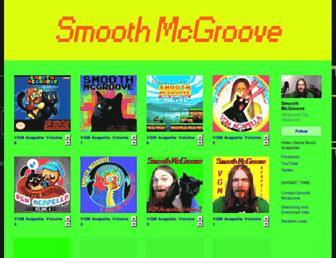 smoothmcgroove.bandcamp.com screenshot