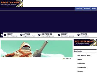 Thumbshot of Gdceurope.com