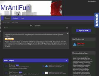 Thumbshot of Mrantifun.net