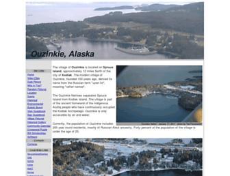 ouzinkie.org screenshot