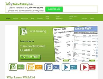 myonlinetraininghub.com screenshot