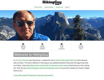 hikingguy.com screenshot