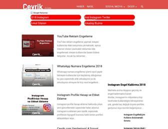 cevrik.com screenshot
