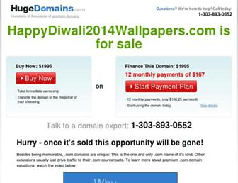Thumbshot of Happydiwali2014wallpapers.com
