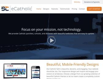 Thumbshot of Ecatholicwebsites.com