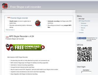 voipcallrecording.com screenshot