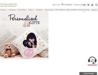 Thumbshot of Giftsbymeeta.com