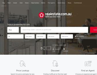 realestate.com.au screenshot