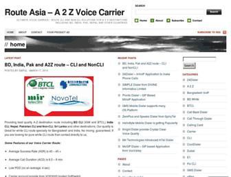 routeasia.wordpress.com screenshot