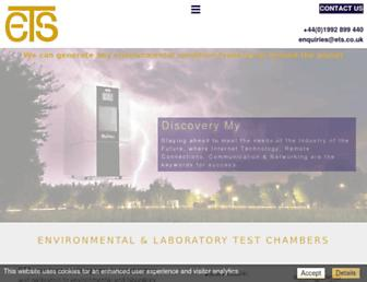 ets.co.uk screenshot