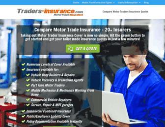 traders-insurance.com screenshot