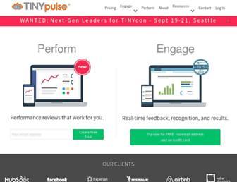tinypulse.com screenshot