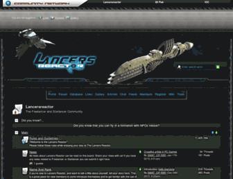 lancersreactor.org screenshot