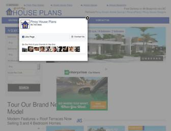 pinoyhouseplans.com screenshot