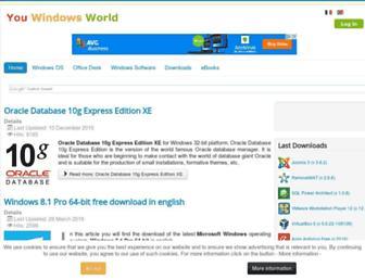 youwindowsworld.com screenshot