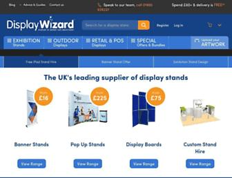 displaywizard.co.uk screenshot