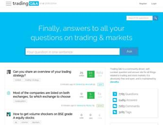 tradingqna.com screenshot