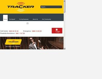 tracker.co.za screenshot
