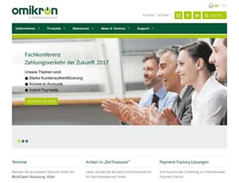 omikron.de screenshot