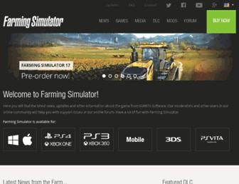Thumbshot of Farming-simulator.com