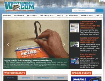 westernbass.com screenshot