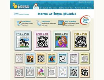 conceptispuzzles.com screenshot