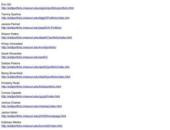 sisltportfolio.missouri.edu screenshot