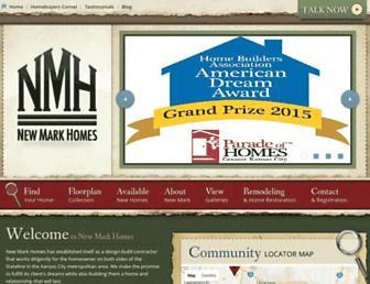 newmarkhomeskc.com screenshot