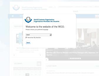 Thumbshot of Wcoomd.org
