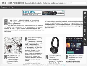 pooraudiophile.com screenshot