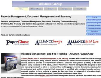 alliancegroup.co.uk screenshot