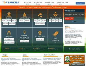 toprankers.com screenshot