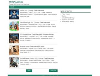 mynaasong.com screenshot