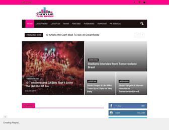 turnupthebass.net screenshot