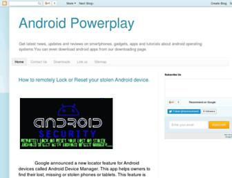androidpowerplay.blogspot.com screenshot