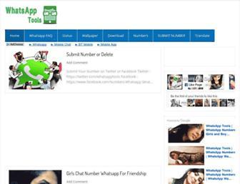 whatsapp-tools.com screenshot