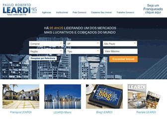 Thumbshot of Leardi.com.br