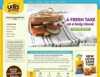 Thumbshot of Udisglutenfree.com