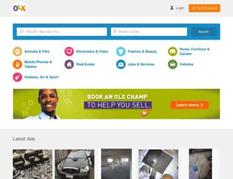 olx.com.ng screenshot