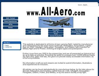 all-aero.com screenshot