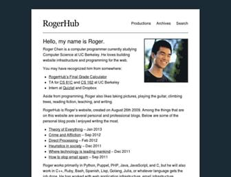 Thumbshot of Rogerhub.com