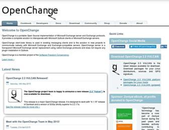 Thumbshot of Openchange.org