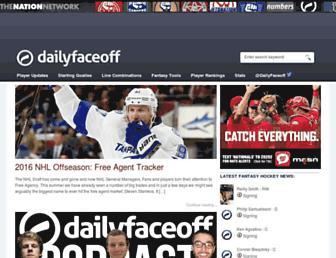 Thumbshot of Dailyfaceoff.com