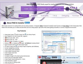 rad-installer.com screenshot