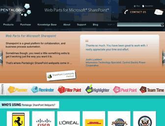 pentalogic.net screenshot